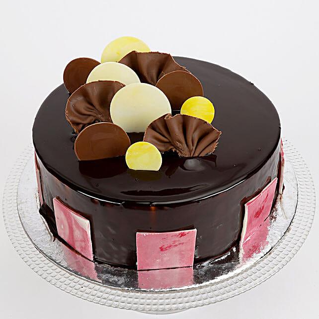Choco Truffle Cake Half kg Eggless