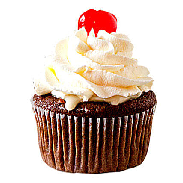 Chocolate Cherry Cupcakes 24