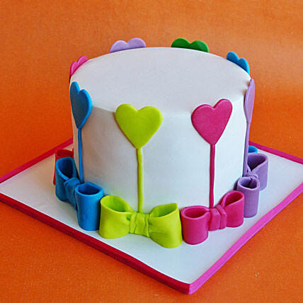 Colors Of Love Cake 3kg Vanilla