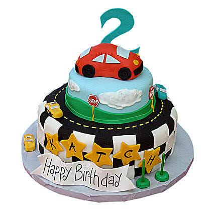 Coolest Car Cake 3kg Eggless