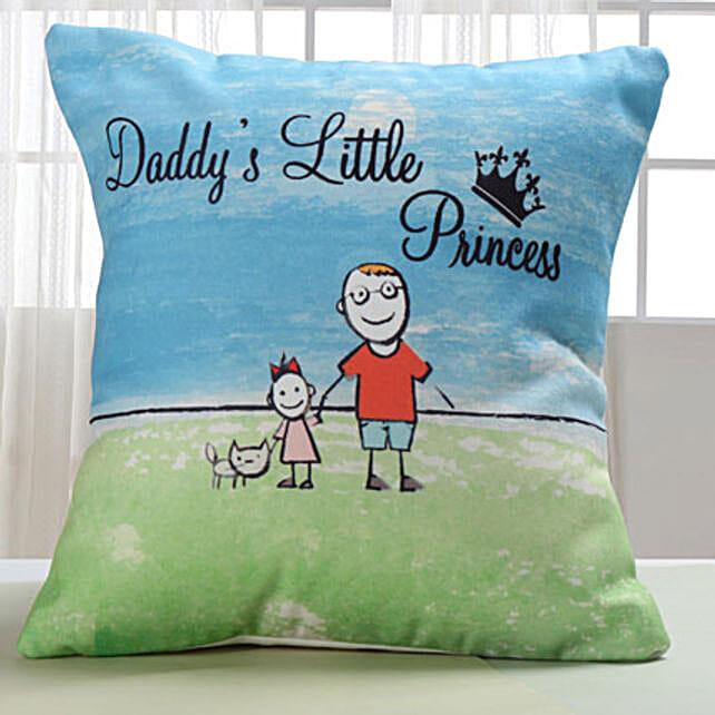 Dad Lil Princess Cushion