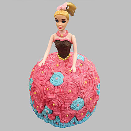 Dashing Barbie Cake Chocolate 3kg