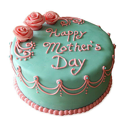 Delectable Mothers Day Cake 2kg Eggless Vanilla
