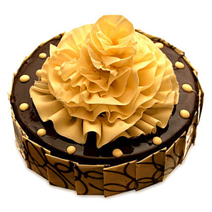 Delightful Chocolate Fantasy Cake Half kg by FNP