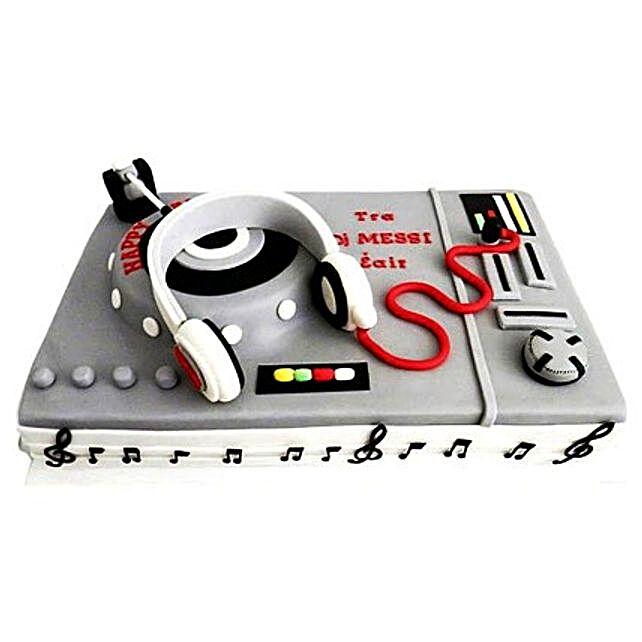 DJ Special Cake 4kg Eggless Black Forest
