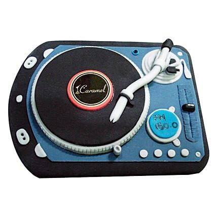 DJ Spin That Cake 4kg Eggless Butterscotch