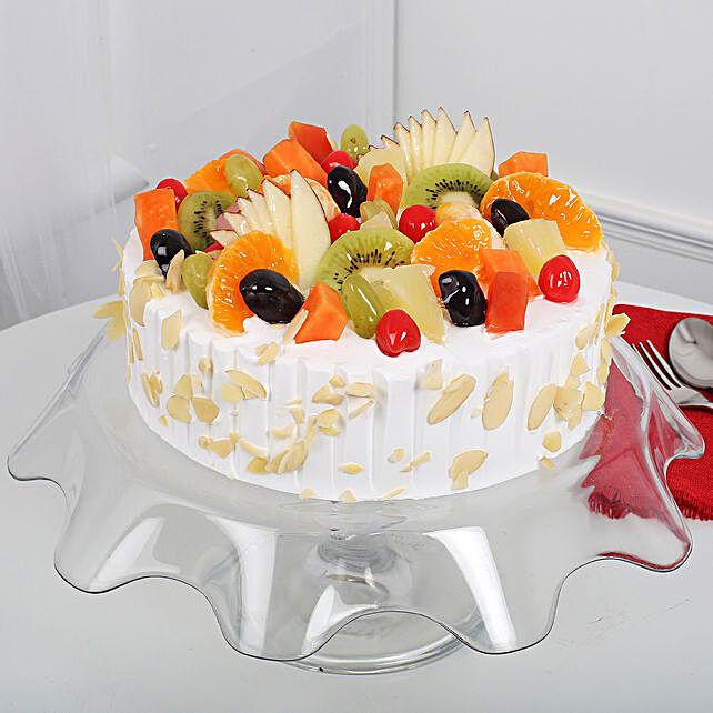 Effervescent Fruit Cake 1KG Eggless