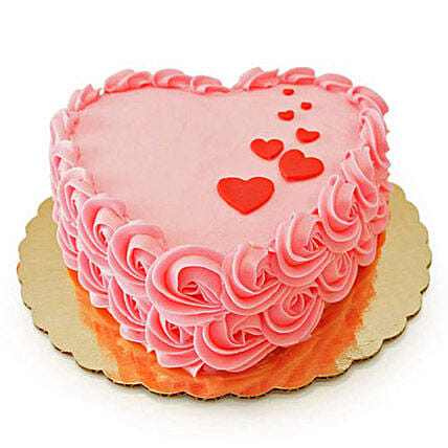 Floating Hearts Cake 3kg Chocolate Eggless