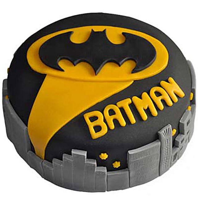 Glitzyy Batman City Cake 2kg