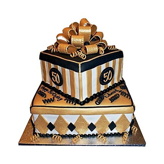 Grand Birthday Cake 5kg Eggless