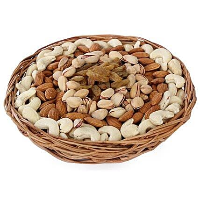 Half kg Dry fruits Basket