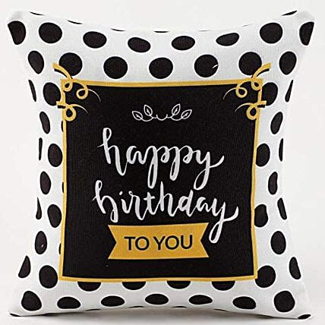 Happy Birthday Cushion
