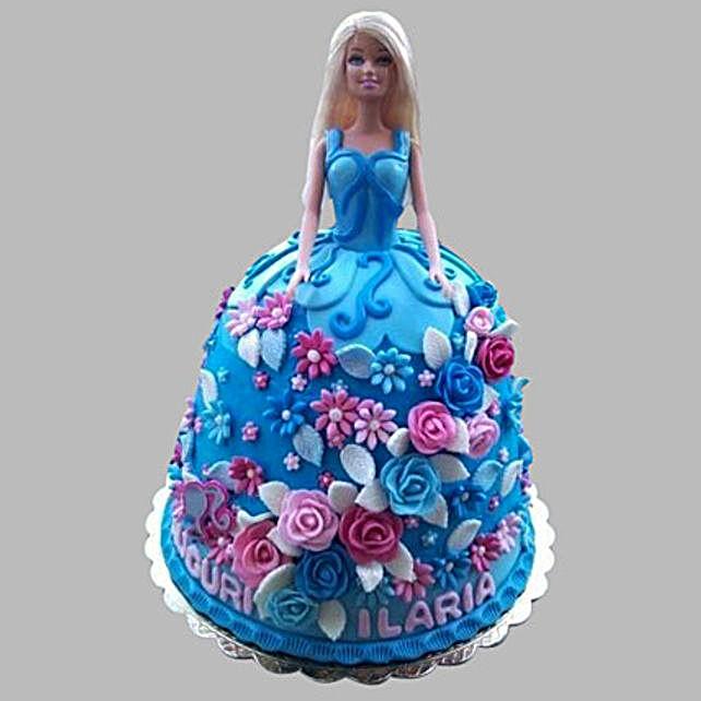 Heavenly Barbie Cake 2kg