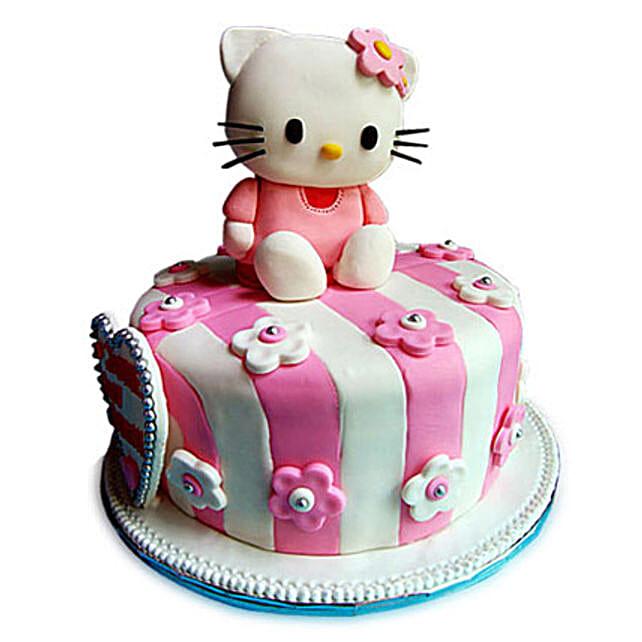 Hello Kitty Dark Truffle Cake 2kg by FNP