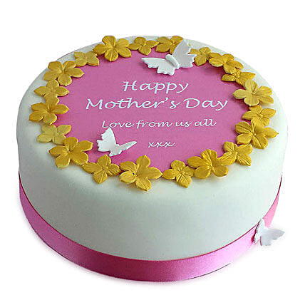Letters to Mom Photo cake 4kg Eggless