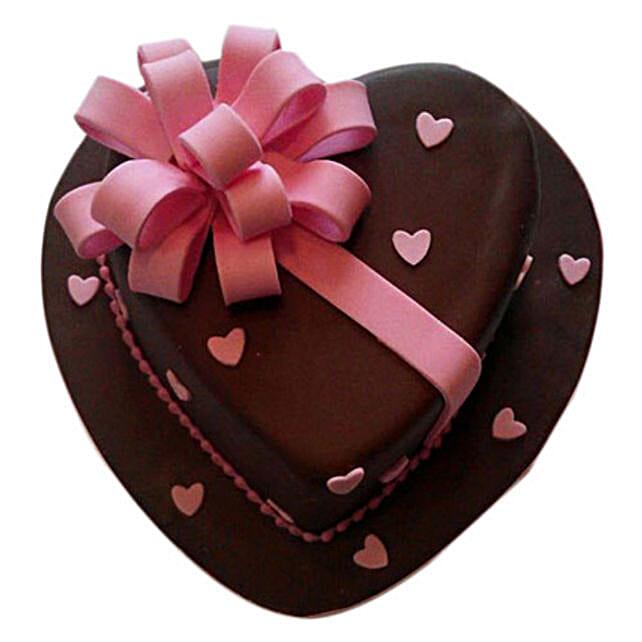 Love Flower Cake 4kg Eggless