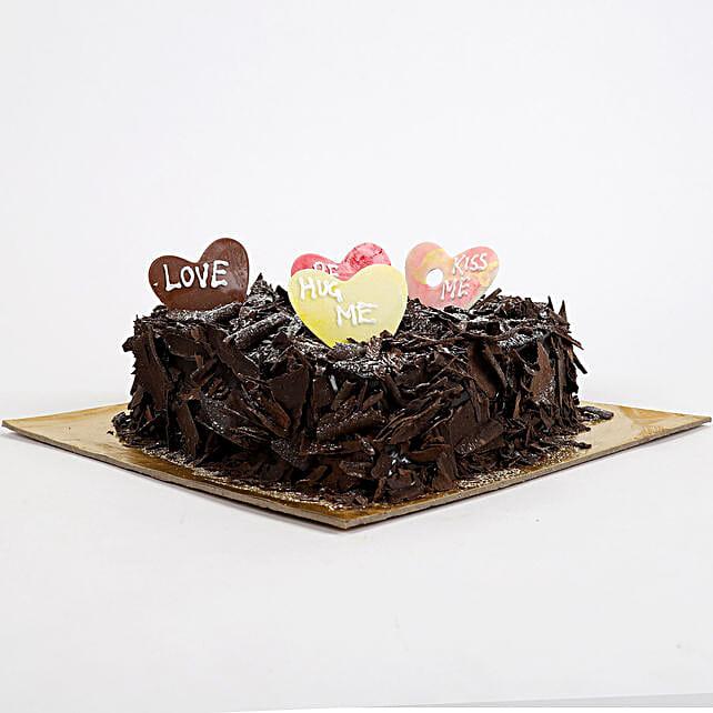 Love in abundunce Valentine cake Half kg