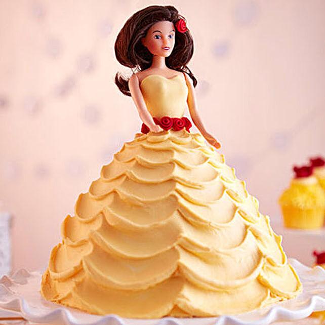 Lovely Barbie Cake Butterscotch 2kg