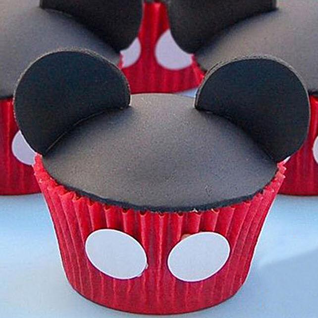 Mickey Mouse Mania Cupcakes 24