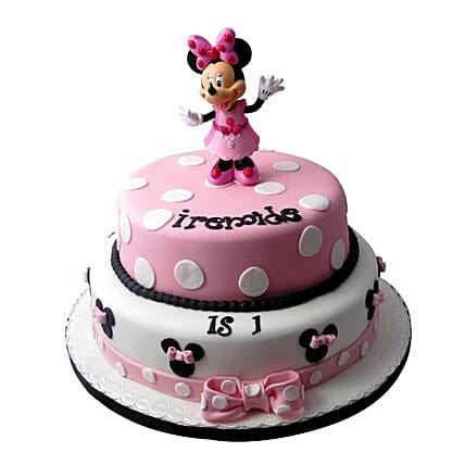 Minnie Mouse Birthday Cake 4kg