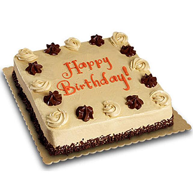 Mocha Delight Cake half kg Vanilla