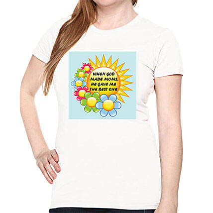 Mommy Printed All Over T Shirt Large
