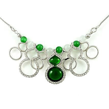 Peacock Style Fashion Short Necklaces