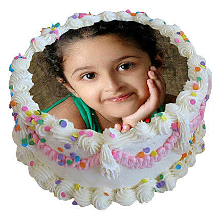 Personalized Cake Fantasy 1kg Eggless
