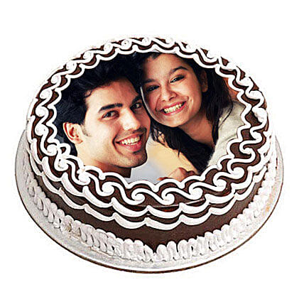 Personalized Chocolate Delicacy 3kg Eggless