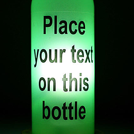 Personalized Lamp With Message