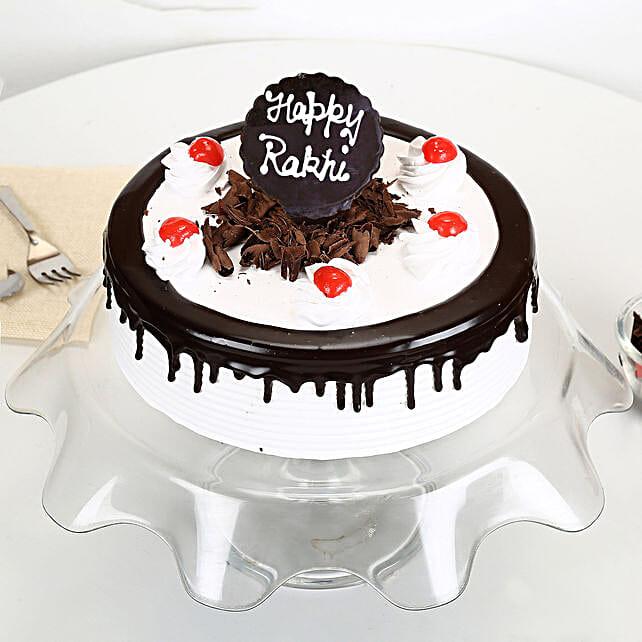 Rakhi with Blackforest Cake 1kg