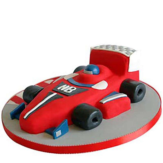 Red Hot Ferrari Car Cake 3kg