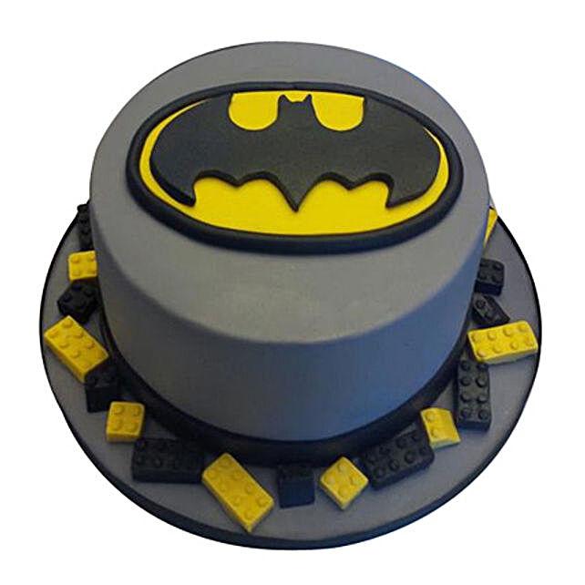 Round Batman Cake 2kg