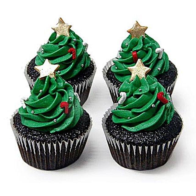Special Christmas Tree Cupcakes 24