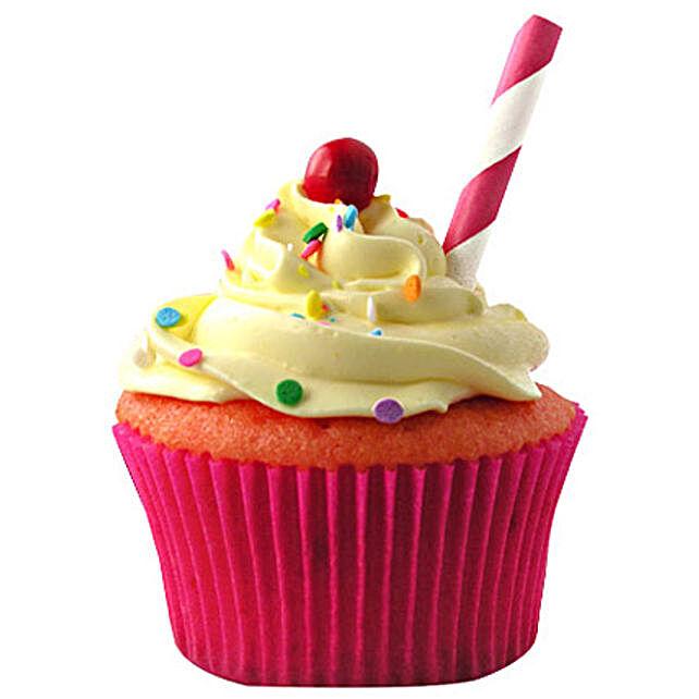 Strawberry Lemonade Cupcakes 12