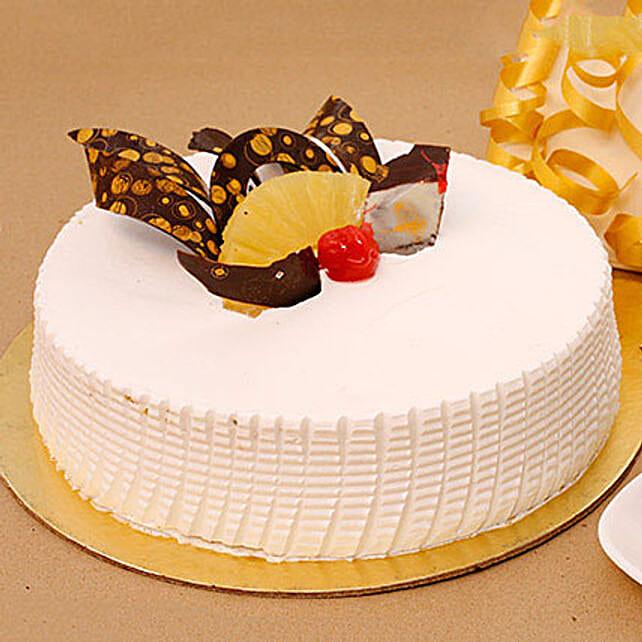 Tangy N Tasty Pineapple Cake 1KG Eggless