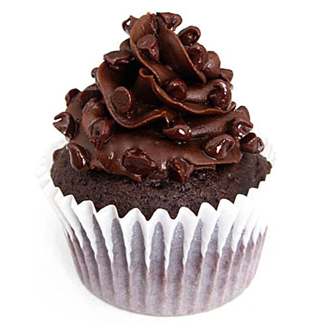 Tripple Chocolate Cupcakes 24 Eggless