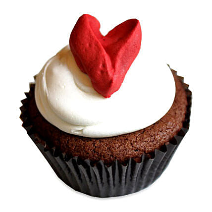 With Love Cupcakes 12 Eggless