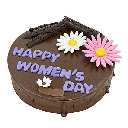 Womens Day Rich Chocolate Cake 1kg Eggless