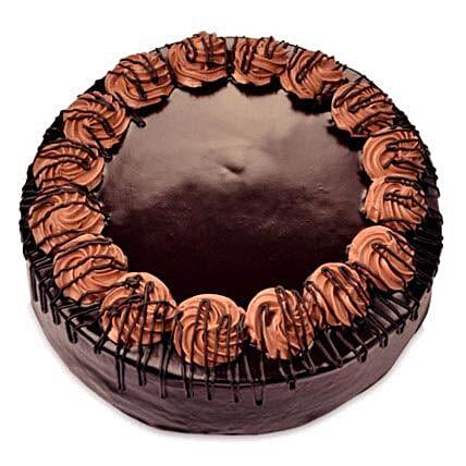 Yummy Special Chocolate Rambo Cake Half kg Eggless