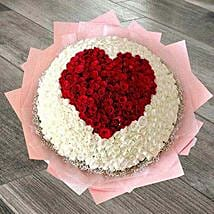 1000 Roses Bouquet: Cakes to Dalli-Rajhara