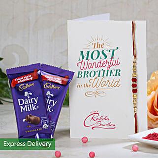 2 Cadbury And Rakhi Combo: