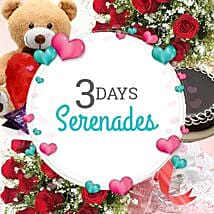 3 Days Valentine Serenades: Flowers & Cakes for Wedding