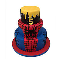 3 Tier Spiderman Cake: Spiderman Cakes