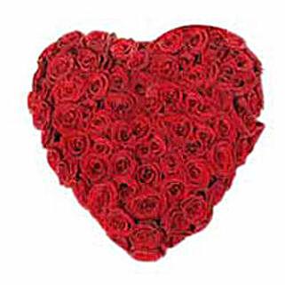 A Innocent Heart: Heart Shaped Flower Arrangements