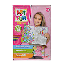 A N F Color Me Paint Set Girls with Cool Dude Smiley: Educational Games for Kids