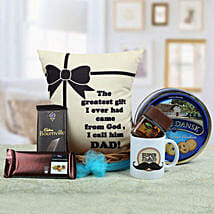 A Yummy Treat for Daddy: Send Gift Hampers to Ghaziabad