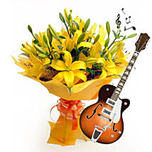 Acoustic Beauty: Navratri Flowers