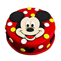 Adorable Mickey Mouse Cake: Cartoon Cakes