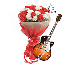 Allure of Music with Blooms: Send Karwa Chauth Gifts to Indore